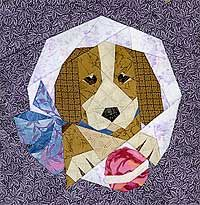 Dogs and Quilting; Patterns, Books and Links