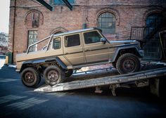 Mercedes-Benz Brings G63 AMG 6x6 To The Northeast