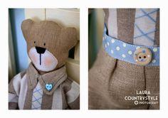 Handmade kids: diamo il benvenuto con un tenero orsetto