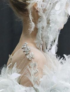 CHANEL  Haute Couture | Spring 2013 _Details