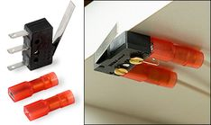 Microswitch for LED Lighting - Woodworking