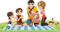 personnages, illustration, individu, personne, gens Love My Family, Home And Family, Family Clipart, Family Drawing, Muslim Family, Cute Images, Disney Characters, Fictional Characters, Clip Art