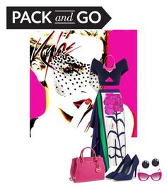 Pack and Go Tokyo by southindianmakeup1990 on Polyvore featuring Roland Mouret, Tanya Taylor, CHARLES & KEITH, MICHAEL Michael Kors, George J. Love and Italia Independent