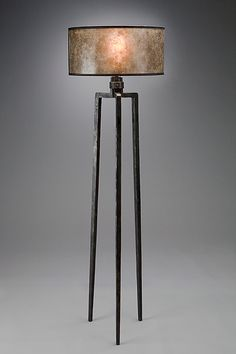 Tripod Floor Lamp: Luke Proctor: Metal Floor Lamp - Artful Home