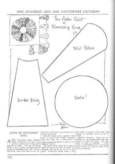 Dresden Plate Template to Print Vintage Quilts Patterns, Dresden Plate Patterns, Star Quilt Patterns, Patchwork Patterns, Antique Quilts, Pattern Blocks, Quilting Templates, Quilting Tutorials, Quilting Projects