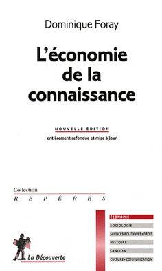 Cet ouvrage s'organise autour de deux thèmes : l'avènement de l'économie de la connaissance en tant que discipline scientifique à part entière mais aussi l'apparition d'une nouvelle économie basée sur la connaissance.
