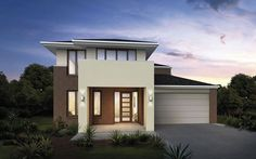 Metricon Home Designs: The Alto - Chateau Facade. Visit www.localbuilders.com.au/builders_nsw.htm to find your ideal home design in New South Wales