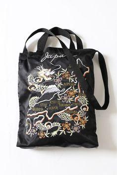 TAILOR TOYOJS SUKA TOTEBAG/別注 テーラー東洋 刺繍トートバッグ