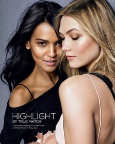 The beautiful Liya Kebede and Karlie Kloss for L'Oreal Paris. Image captured by Exposure NY artist Kenneth Willardt (@kennethwillardt) with styling by Michael Angel, hair by Stephane Lancien, makeup by Charlotte Willer, set design by Andrea Stanley, and manicure by Elsa Deslandes. #loreal #paris #lorealparis #gorgeous #beauty #studio #exposureny #makeup #supermodels #models #nyc #newyorkcity #slay #glam #artist #photography #instafashion #instagood #potd