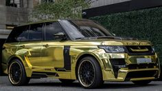 BBC - Autos - Range Rover Mystere by Hamann in gold