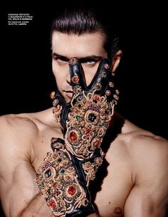 604e1d215db3 Roberto Bolle for Vogue Russia by Daniel Sannwald