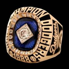 1988 Los Angeles Dodgers World Series Champion ring and my daughters birth yr, Let's Go Dodgers, Dodgers Baseball, 1988 World Series, World Series Rings, Jerseys Nfl, Mlb Teams, Sports Teams, Rings, Hearts