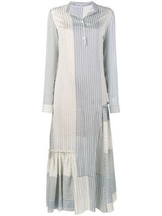 Simple Dresses, Dresses With Sleeves, Summer Dresses, Hijab Fashion, Fashion Outfits, Stella Mccartney Dresses, White Long Sleeve Dress, Light Dress, Maxi Robes