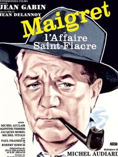 Maigret et l'affaire Saint-Fiacre - 1959 - Jean Delannoy - Jean Gabin, Michel Auclair - Lent et théâtral, mais un final remarquable. Un vrai Cluedo. Note: 7/10