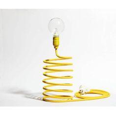 Lampa sprężyna