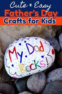 54 Easy Crafts for Dad from Kids - Father's Day Crafts for preschoolers/ toddlers, Pre-K, Sunday school etc - make great homemade gift ideas for dad - Crafting For The Holiday Diy Father's Day Gifts Easy, Father's Day Diy, Diy Gifts, Easy Diy, Clever Diy, Simple Diy, Kids Fathers Day Crafts, Crafts For Kids To Make, Easy Crafts
