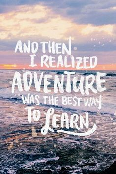 Travel Quotes | Life Travel Quotes | Life's best lessons come from outside of your comfort zone. #TravelQuotes