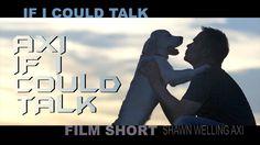 IF I COULD TALK / BEST DOG FILM SHORT Director @ShawnWellingAXI