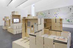 Fluxus Module exhibition at Museum Ostwall by modulorbeat, Dortmund   Germany exhibit design