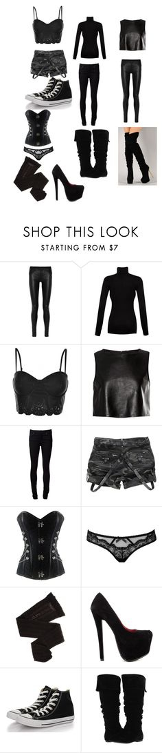 """""""Lucy Knight Avenger OC clothes"""" by tardisofsexy ❤ liked on Polyvore featuring Helmut Lang, Splendid, MINKPINK, TIBI, Naked & Famous, Agent Provocateur, Trasparenze, Shoe Republic LA, Converse and Gabriella Rocha"""