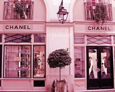-Chanel- Paris Photograph France Coco Chanel Boutique