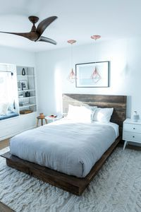 Mr. Kate _ MyLifeAsEva's Minimalist Beachside Bedroom Makeover