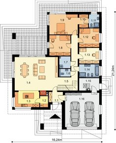 Beautiful House Plans, Beautiful Homes, Modern Bungalow House, Kerala Houses, Design Case, Beautiful Butterflies, My Dream Home, Home Projects, Floor Plans