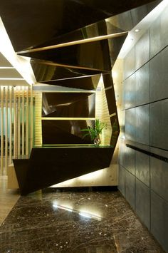 Angular Forms and Folding Planes, Mumbai, 2012 - KNS ARCHITECTS