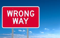 Wrong Way Understanding God Homeschool, God, Signs, Schoolhouse Rock, Dios, Shop Signs, Allah, Homeschooling, Sign