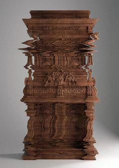 HistoriasInsolitas.com (Good Vibrations, el mueble tallado como falla digital)