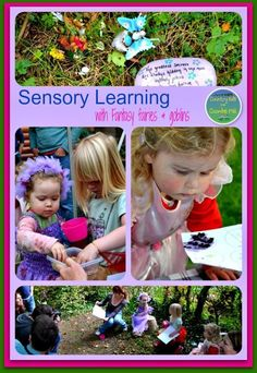 Sensory learning with fantasy fairies and goblins