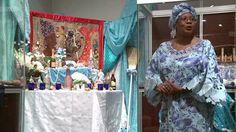 Altar dedication for Lasiren, Vodou spirit of the sea - VimeoInfo