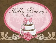 New cover page to my Holly Berry's Cakery FaceBook page