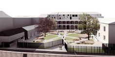 Atelier AS Elena Antoniolli Nicola Sutto architetti - Oltre il giardino - Concorso di idee per la riqualificazione del giardino di Palazzo Fabroni, Pistoia, 2015