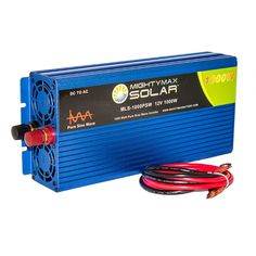 12V 1000W Power Inverter Dual AC Outlets - Mighty Max Battery brand product