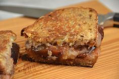 Grilled Cheese with Figgy Marmalade from Mrs. Wheelbarrow's Practical Pantry
