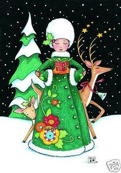 Image result for Mary Engelbreit christmas queen
