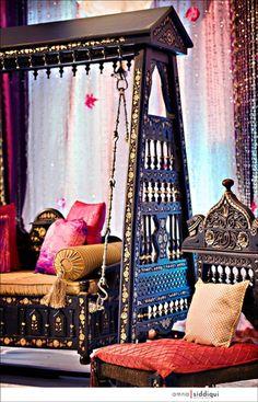 beautiful bohemian decor | Boho Swing Chair | Panda's House