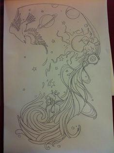 Tattoo for Aquarius by KyraTheRiceball on deviantART