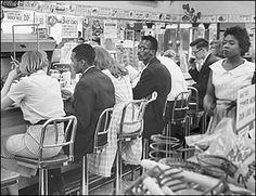 Civil Rights LUNCH COUNTER SIT-IN, San Antonio, TX (March 21, 1960)
