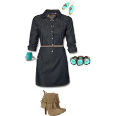 jean, created by sylvia-martinez on Polyvore