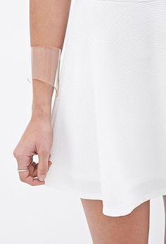 Textured Knit Skater Skirt   FOREVER 21 - 2000059862 $15