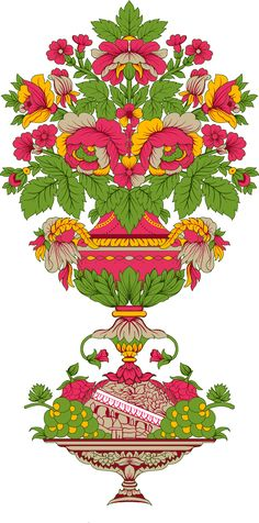 Motif Floral, Floral Border, Zentangle, Flower Png Images, Baroque Decor, Church Flower Arrangements, Paisley, Design Seeds, Album Design