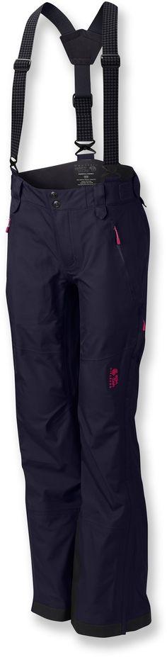 Mountain Hardwear Female Snowtastic Soft-Shell Pants - Women's