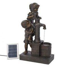 Teamwork Water Pump Solar Fountain (pack of 1 EA)