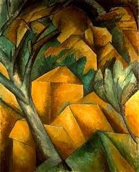 Georges Braque, Case all'Estaque, 1908, olio su tela, Kunstmuseum, Berna.