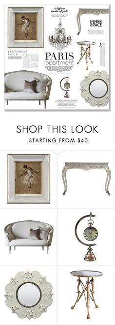"""Paris Apartment"" by sissydoll ❤ liked on Polyvore featuring interior, interiors, interior design, home, home decor, interior decorating, John-Richard, Eichholtz, Swarovski and parisapartment"