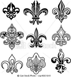 Fleur-de-lis http://comps.canstockphoto.com/can-stock-photo