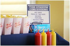 Football Birthday Party Food Ideas