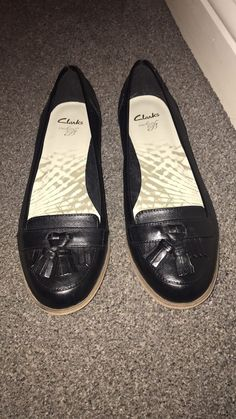 Clarks Loafer Leather Shoes 5.5 | eBay